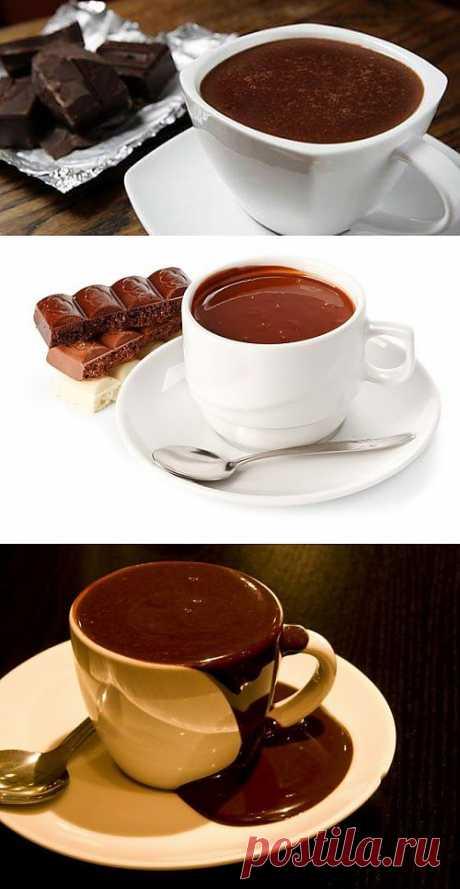 Горячий шоколад – готовим сами / Простые рецепты