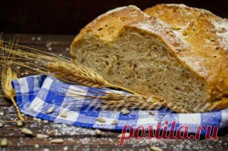 Ржаной хлеб в духовке, рецепт