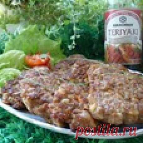 Овощные оладьи с мясным фаршем Кулинарный рецепт