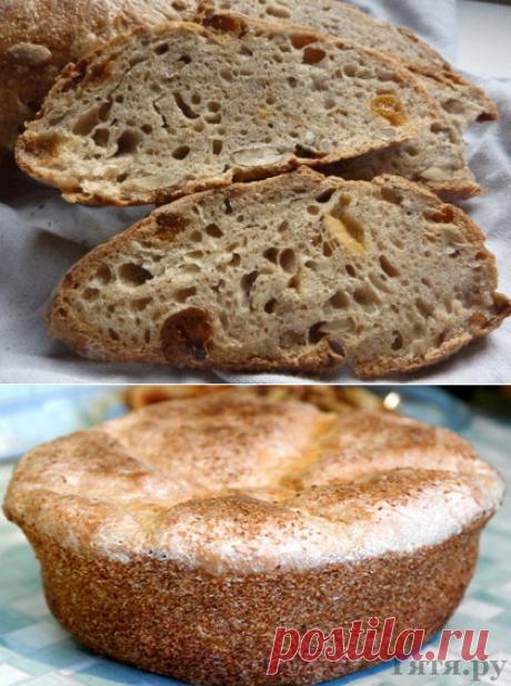 5 заквасок для бездрожжевого хлеба своими руками