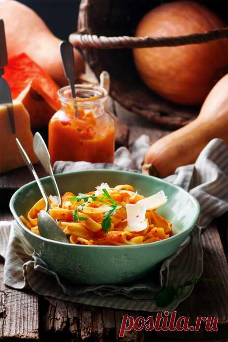 Паста с тыквенным соусом – Кулинарный Блог