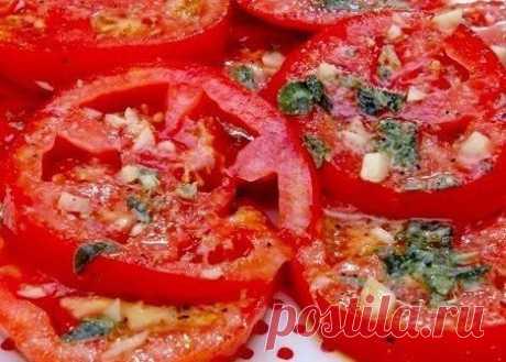 Маринованные помидоры по-итальянски за 30 МИНУТ! | Банк кулинарных рецептов