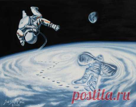 Лиза Рэй –  Детские мечты Lisa Ray - Childhood dreams 50Х40, 2018 canvas, oil  - холст, масло #surreal #surrealism #超現實主義 #surréalisme #painting #LisaRay #сюрреализм #ЛизаРэй #живопись #картины #художник #art #искусство #космос #космонавт #снежныйангел #планета #орбита #Земля #мечты #детство #space #planet #orbit #Earth #dreams #cosmonaut #snowangel #арты #USSR #СССР #профессия