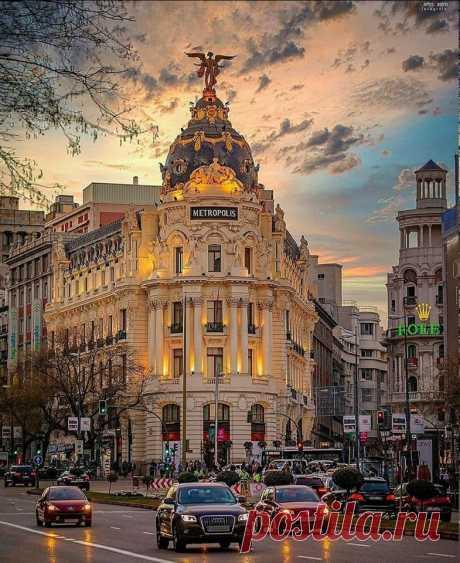 Вечерний Мадрид, Испания