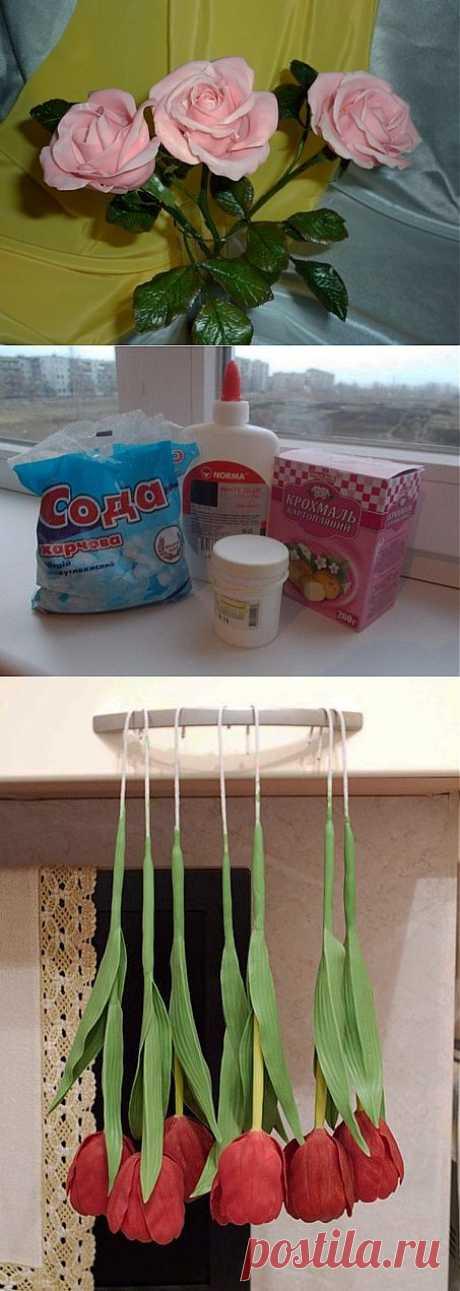 Еще один вариант приготовления холодного фарфора. Без варки!!!.