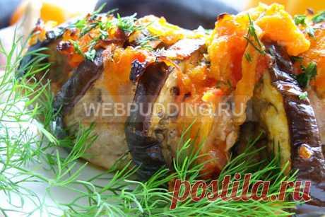 Баклажаны с фаршем по-турецки | Webpudding.ru