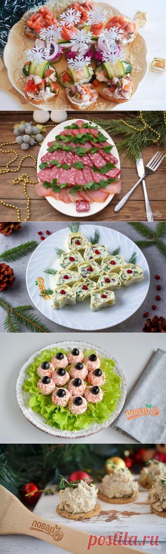 5 самых быстрых закусок на новогодний стол — Бабушкины секреты