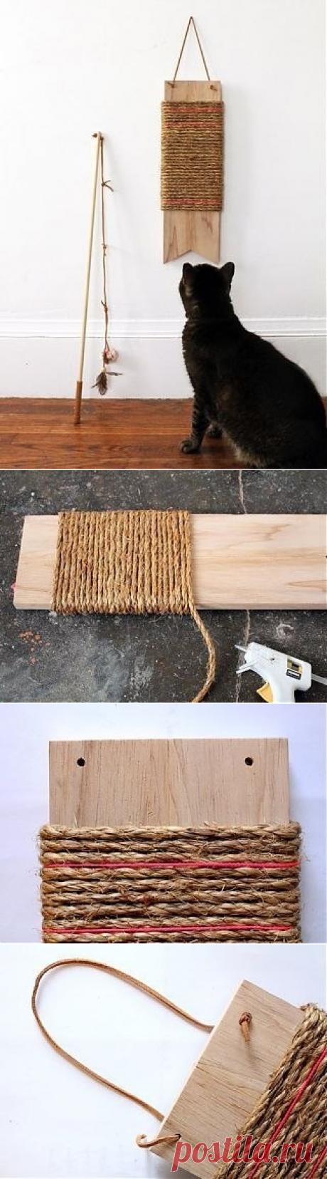 Точилка для кошачьих когтей.