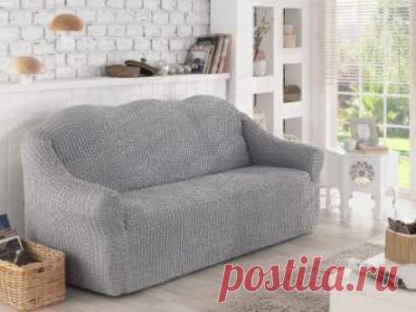 Текстильные чехлы для прямых диванов от турецких и европейских производителей