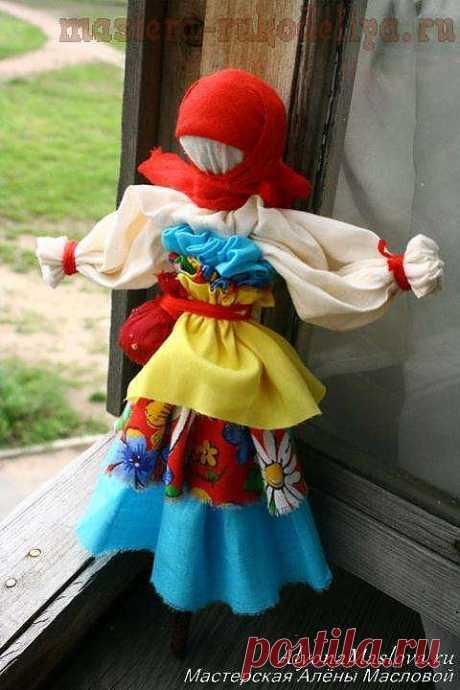Мастер-класс: Тульская колыбельная кукла-оберег