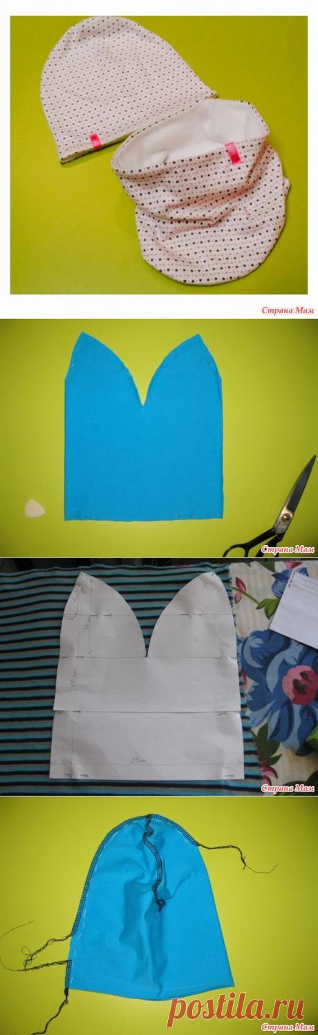Мои шапочки плюс мини МК - Авторские уроки шитья... моделирование, крой, технология - Страна Мам