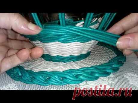 Кружка-конфетница из газетных трубочек /подарки на 8 марта своими руками 🤚