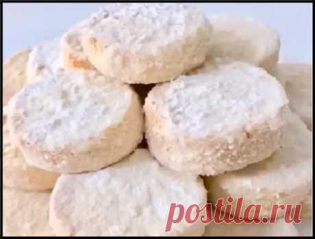 """Молдавское рассыпчатое печенье без яиц и разрыхлителя - """"Тающий снег""""! - Ваши любимые рецепты - медиаплатформа МирТесен"""
