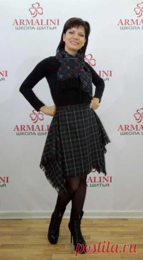Интересная и очень простая юбка в стиле Vivienne Westwood! | Школа шитья ARMALINI