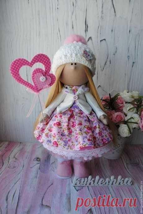 Пошив интерьерной куколки от и до