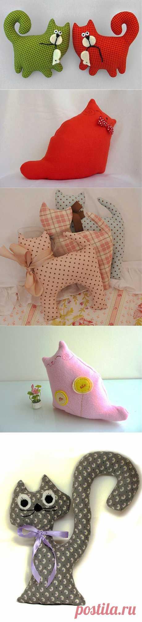 Текстильные коты