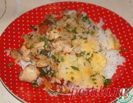 """Курица с рисом """"Роскошный ужин"""" – кулинарный рецепт"""