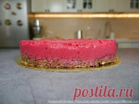 Простой рецепт торта, который даже не нужно выпекать, а на приготовление уходит не более 30 минут | Рекомендательная система Пульс Mail.ru