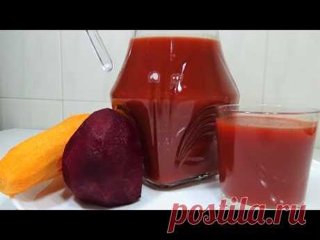 Божественный напиток! Морковно Свекольный фреш! Как приготовит дома?