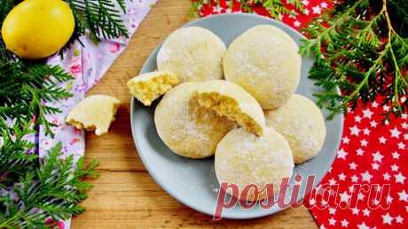 Лимонное печенье - Домашний Ресторан