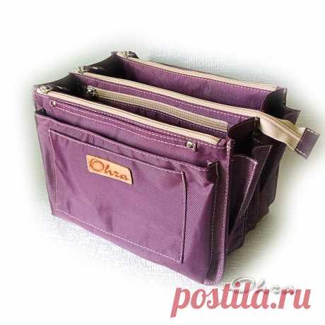 Тинтамар двойной текстильный (органайзер для сумки) – купить в интернет-магазине на Ярмарке Мастеров с доставкой Тинтамар двойной текстильный (органайзер для сумки) – купить или заказать в интернет-магазине на Ярмарке Мастеров | Эта модель - точная копия полюбившегося многим…