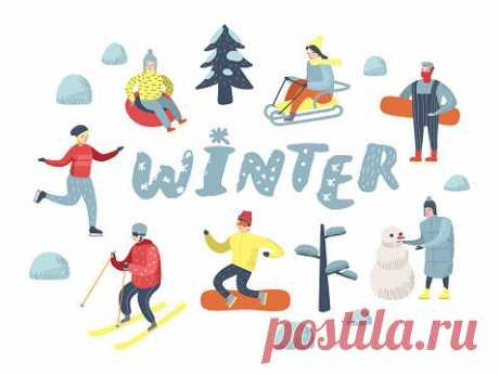 Зимний спорт на английском - разбираем фразы и устойчивые выражения