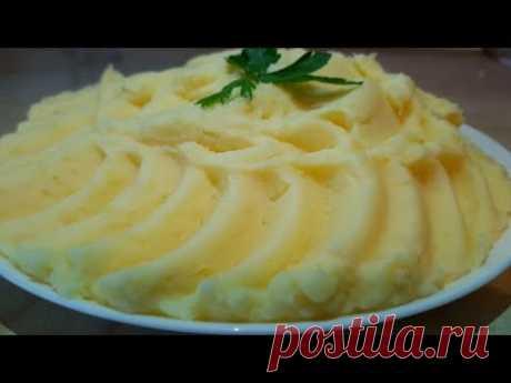 Картофельное пюре цыганка готовит. Gipsy cuisine.