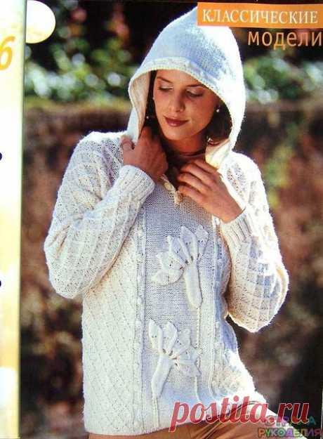 Растительные узоры в моделях одежды -вязание спицами. Коллекция-24 - Вязание - Страна Мам