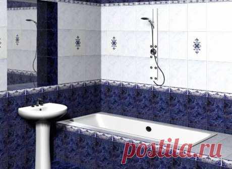 La baldosa para el cuarto de baño: los consejos en la elección