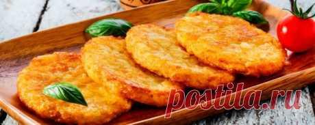 Драники с капустой и картошкой