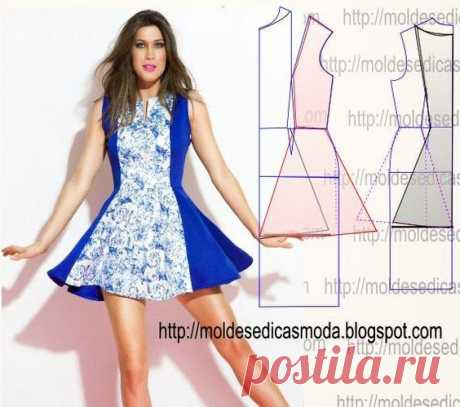 Моделируем женственные платья. Идеи и выкройки