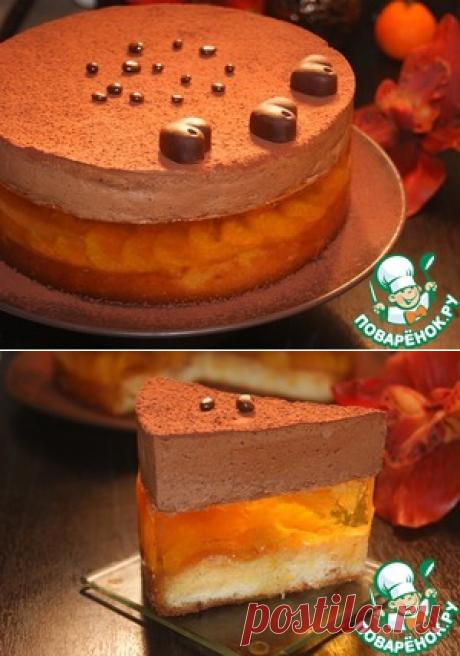 """Торт """"Дикая орхидея"""" – кулинарный рецепт"""