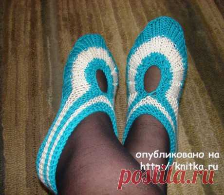 Тапочки от pawa. Работы Татьяны, Вязание для женщин
