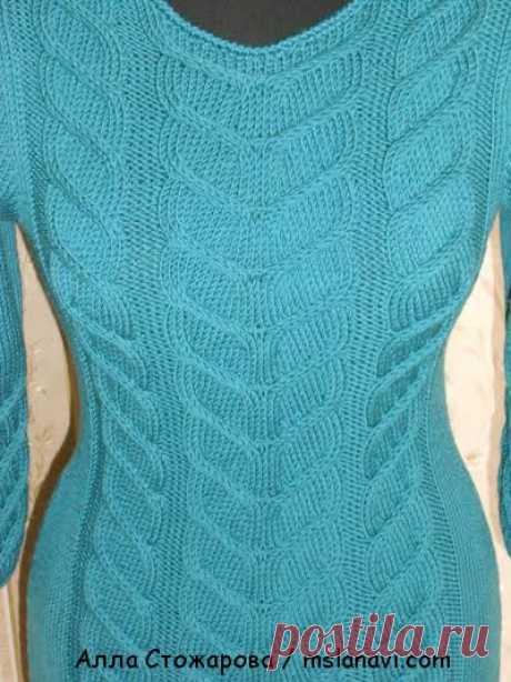Вязаное платье | Вяжем с Лана Ви