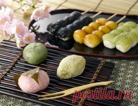 Японские сладости Вагаси - история, польза, рецепты, правила подачи, фото wagashi