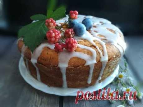 Рецепт тыквенно - макового кекса
