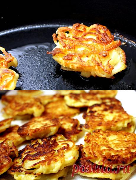 Картофельные драники, драники картофельные рецепт, драники из картофеля, рецепт драников из картофеля