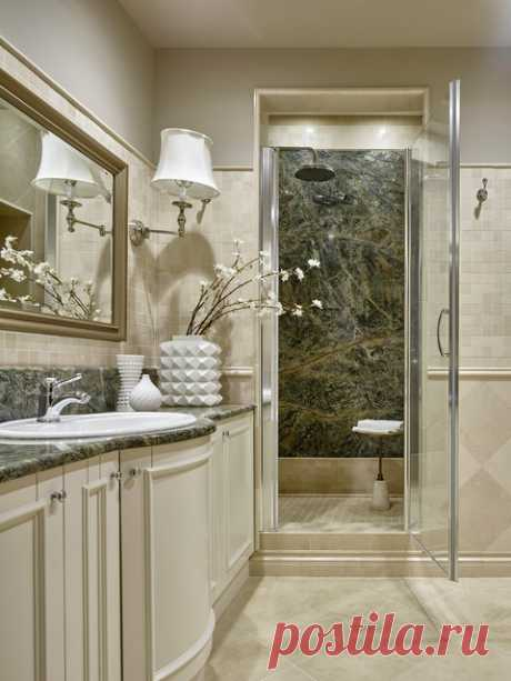 На все времена - Классический - Ванная комната - other metro - от эксперта Студия дизайна интерьеров «Арх.Предмет»