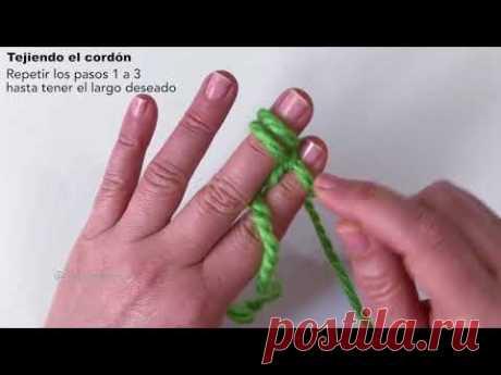 Шнур на пальцах