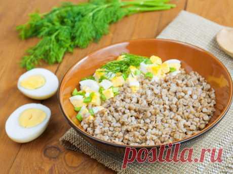 Гречка с луком и яйцом — Sloosh – кулинарные рецепты