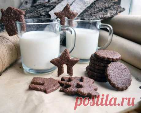 Шоколадное сахарное печенье  Печенье очень шоколадное, но не приторное. Довольно мягкое и немного тягучее, как будто внутри тонкие карамельки. Оно должно вам понравиться.   Ингредиенты:  Показать полностью…