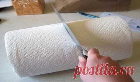 9 нестандартных способов использовать бумажные полотенца. Я даже не представлял, что такое возможно! (фото)