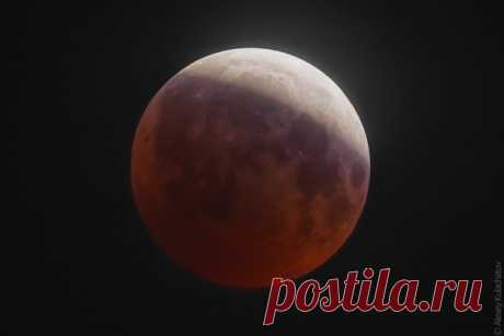 Tomorrow evening the partial eclipse of the Moon which can be observed almost in all territory of Russia will take place.