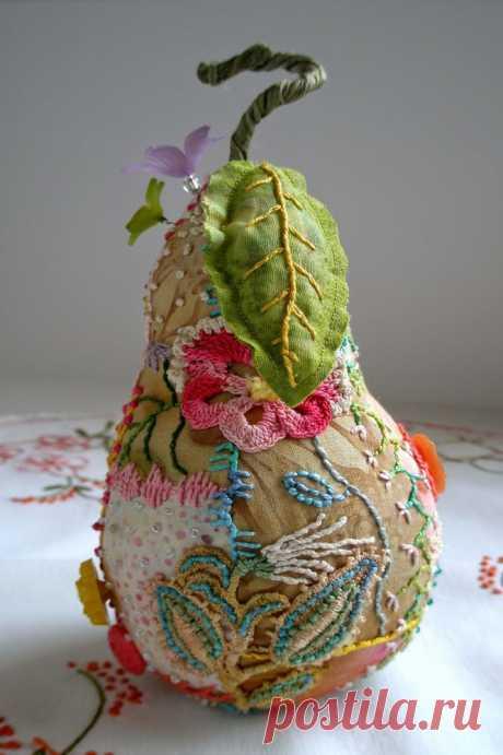 Такие удивительные игольницы Jill Verbick-Oleary - Ярмарка Мастеров - ручная работа, handmade