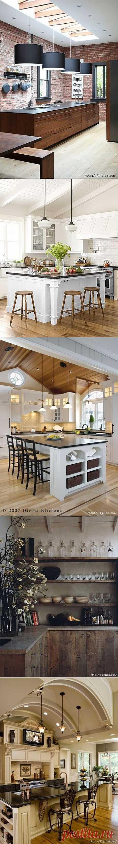2 часть. Дизайнерские идеи на кухне..