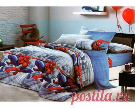 комплект постельного белья Слим-сатин QT745 простыня 150х210, пододеяльник 147х210, наволочка 70х70- 2шт