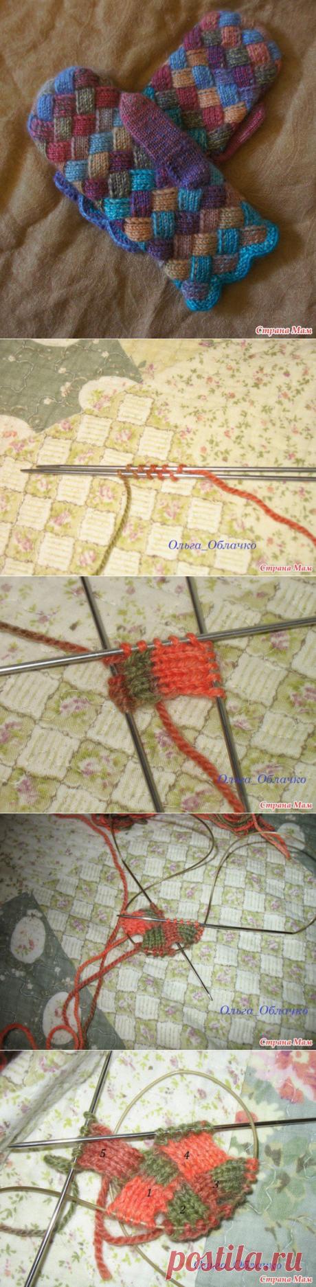 Имитация лоскутных варежек в технике энтерлак — Сделай сам, идеи для творчества - DIY Ideas
