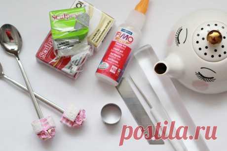Вкусные ложки: мастер-класс по лепке из пластики | Miss Etoile