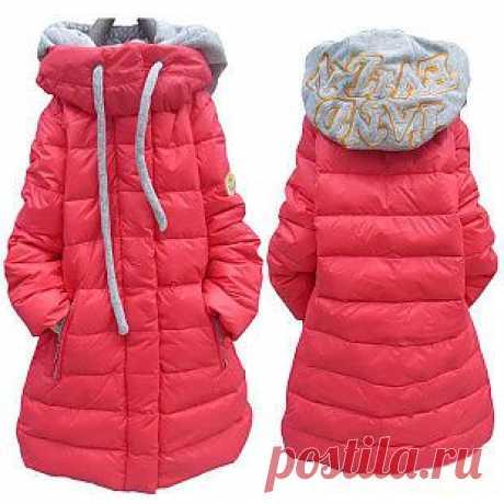 пальто для девочек! пуховик!