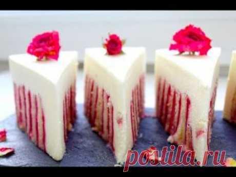 ¡La TORTA DE FRAMBUESA con el BIZCOCHO DZHOKONDA\/!!! ¡KOSMICHESKI es sabroso!!!